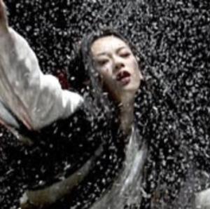 Geisha snow dance