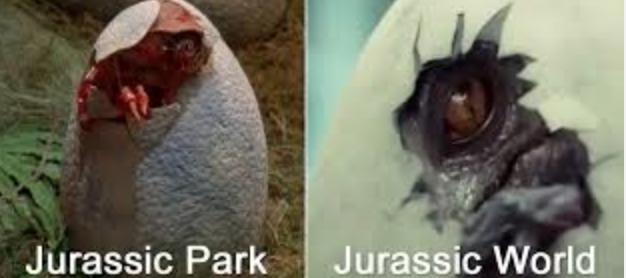 Jurassic world eggs hatch