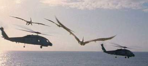 Jurassic world helicopters and dinos flying monkeys